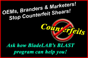 Stop Counterfeit Shears!